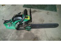 Petrol chainsaw 14""