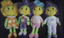 large set of fifi and the flower tots toys