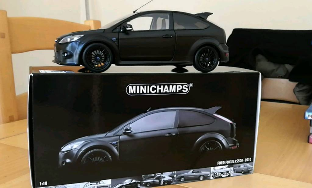Minichamps focus rs500 diecast model car