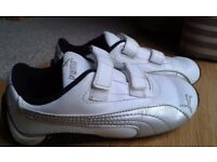 Puma trainers PE shoes size UK 9 infant
