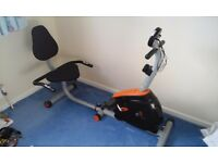 V-fit Recumbent exercise bike