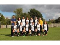 Competitive and sociable women's football team is looking for new players for 2017/18 season