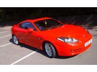 2008 HYUNDAI COUPE 2.0L S111 Cambelt, FULL BLK LEATHER, FSH, 65,400.