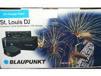 "Blaupunkt Stereo Radio Head Unit and CD Changer (10 CDs) ""St. Louis DJ"" Classic Car NEW"