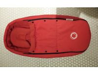 Bugaboo Bee cocoon - red - good condition