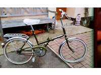 Raleigh stow away folding bike