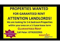 ATTENTION LANDLORDS! 3 -5 YEARS GUARANTEED RENT, NO VOIDS, NO STRESS