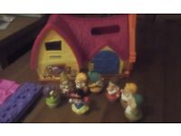 Fisher-Price Little People Snow White's Cottage