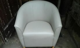 Cream tub chair