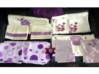 PURPLE THEMED BEDDING SETS & ACCESSORIES