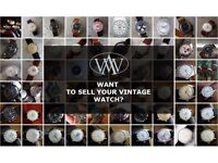 Looking to sell your vintage watch?