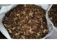 Decorative Bark Chippings - 70L Bags. £2.50 each