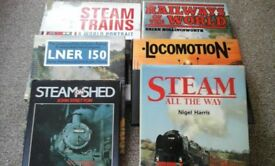 Railway Books - six