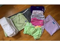 Cloth Nappies / Diapers and Wet Bag Set