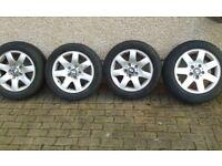 BMW 3 series alloys x 4