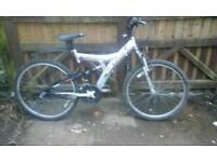 Full suspension men's mountain bike feel free to contact me