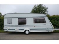 1996 compass connoisseur 490/4 4 Berth with full awning caravan