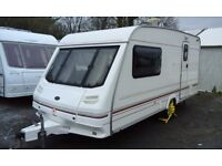 1998 Sterling Eccles Diamond, 2 berth caravan, awning & extras