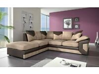 XMAS Sale on Dino Corner and 3+2 Sofa Black Grey Brown Beige