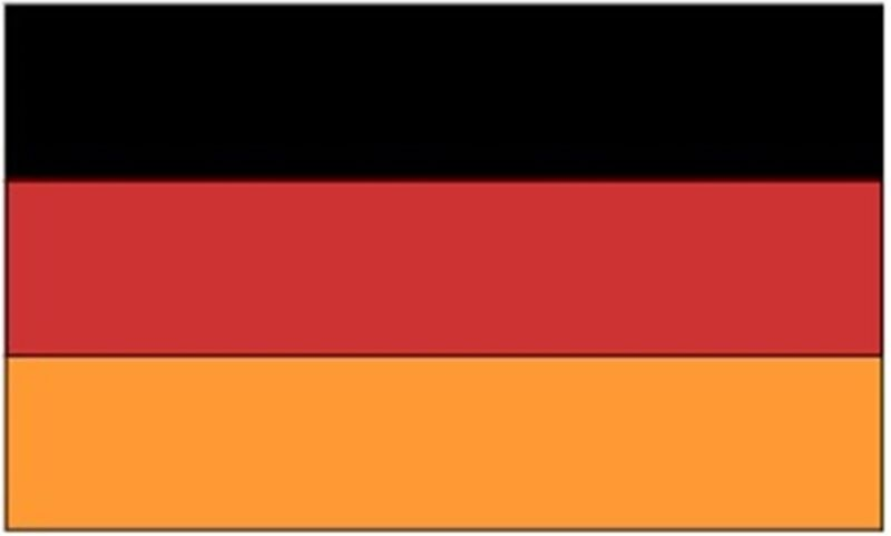 GERMANY International Country Flag 1990 - Present  3x5 ft Print Polyester