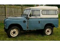 PROJECT Land Rover Series 3
