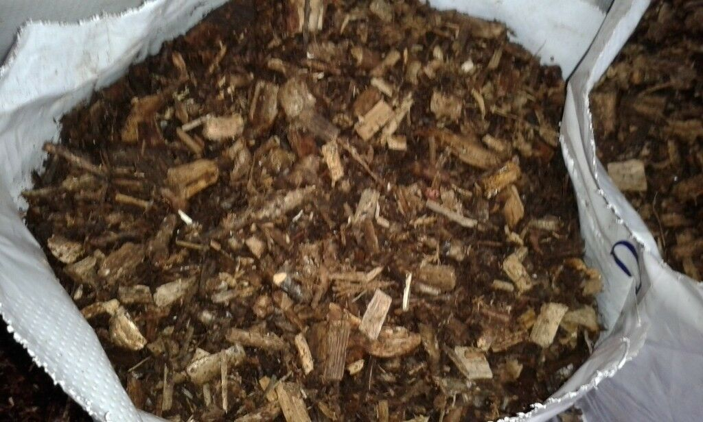 Decorative Bark Chippings - 70L bags - £2.50 each