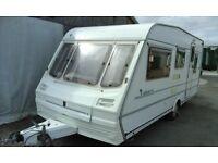 **URGENT** - 1995 Abbey Cabaret 5 berth caravan with extras