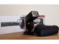 Metz Mecablitz 52 AF-1 digital Flash for Olympus, Panasonic, Leica cameras