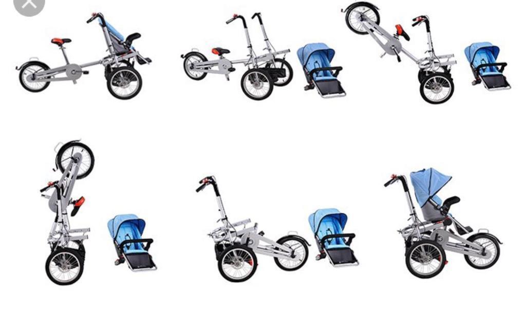 "Taga patent ""B Green"" stroller / cargo bike"