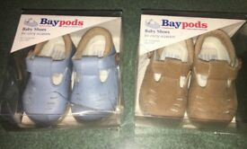 2 Brand new baby pod shoes