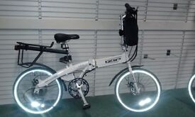 Electric Folding Bike Ideal for Motor Homes . Commuting . Trains . Coach .