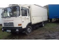 LEFT HAND DRIVE MAN DIESEL TRUCK, 12.5 TONNES LOAD CAPACITY, DRIVES PERFECTLY, GREAT MECHANICS.CALL