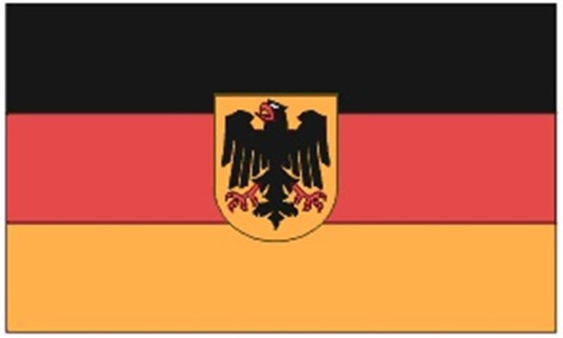 GERMANY w/ EAGLE Country Flag 1950-1990 Lightweight 3x5 ft Print Polyester