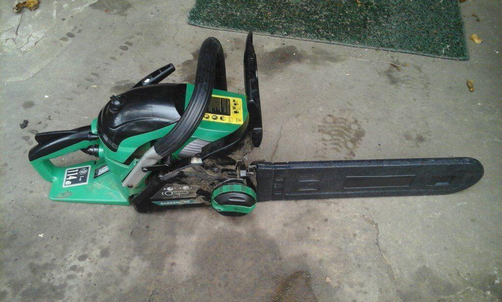 """Petrol chainsaw 14"""""""
