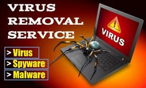 Virus Removal now! (905) 892-4555