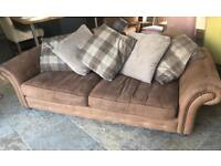 Sofa DFS Kielder 3 seater/2 seater/armchair/large footstool