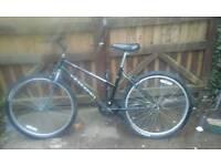 Ladies black mountain bike feel free to contact me