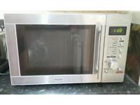 Baumatic 700 watt stainless steel microwave