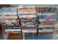 COLLECTION OF 59 DVD'S AND BOX SETS WILL SEPERATE FROM £2 EACH