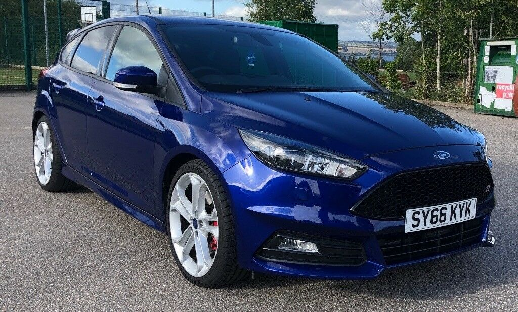 Ford Focus St 3 66 Plate 2 0 Ecoboost Deep Impact Blue In Muir Of Ord Highland Gumtree