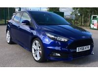 Ford Focus ST-3 66 Plate 2.0 EcoBoost Deep Impact Blue