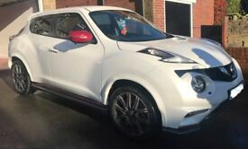 Cheapest UK Nissan Juke 1.6 DIG-T Nismo RS Tech Pack M-Xtronic 4X4 5dr FSH 6000 Miles