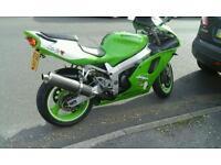 Kawasaki zx7r classic sports bike rare ninja poss px for something fun
