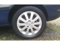 Vauxhall Zafira/Astra Alloy Wheels, with 205/55/16 Tyres.