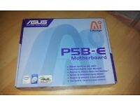 ASUS P5B-E MOTHERBOARD (MINT CONDITION BOXED NEVER USED)