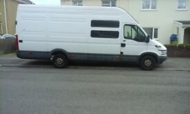 Iveco daily LWB, extra high roof. 9 months MOT. £1800 for quick sale.