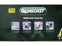 As New Qualcast 2000 watt Electric Chain Saw