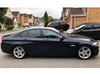 BMW 520d M sport automatic with inbuilt Satnav