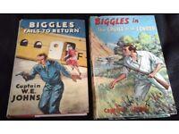 Biggles/Gimlet/Worrals. W.E. JOHNS Books