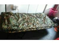 Nash camo sleeping bag fishing